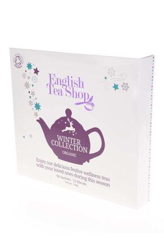 Cutie cadou alba de ceai englezesc English Tea Shop