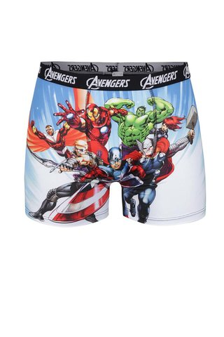 Boxeri albastri cu imprimeu - Avengers