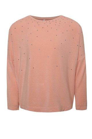 Bluza roz prafuit name it Kaitlyn cu aplicatii