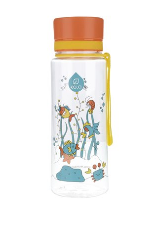 Plastová lahev s motivem rybiček EQUA (600 ml)