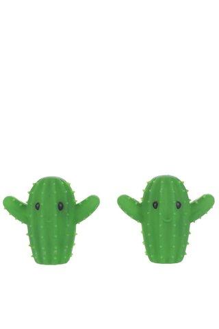 Set de dezumidificatori pentru rufe Kikkerland in forma de cactus