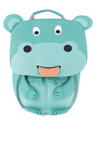 Rucsac turcoaz Affenzahn in forma de hipopotam