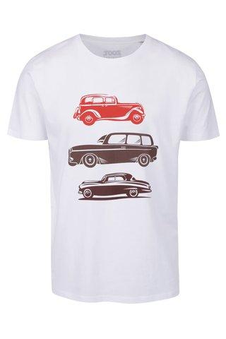 Bílé pánské tričko ZOOT Originál Retro auta