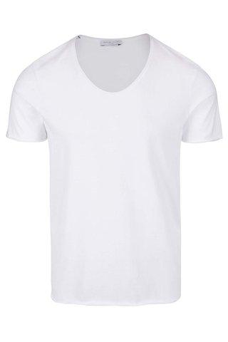 Bílé tričko Selected Homme Merce