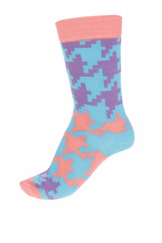 Sosete multicolore Happy Socks Dogtooth