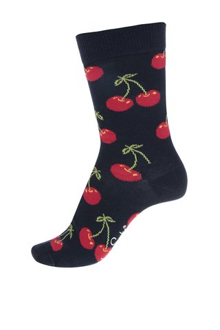 Sosete bleumarin Happy Socks Cherry