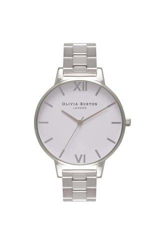 Hodinky ve stříbrné barvě Olivia Burton