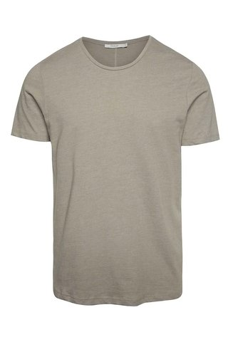 Béžové basic tričko pod košili Jack & Jones Hugo