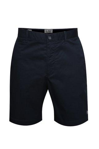 Pantaloni chino scurti bleumarin cu logo brodat - Original Penguin P55 8