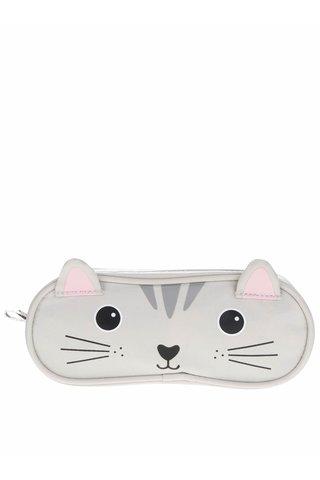 Penar gri Sass&Belle Nori Cat in forma de pisica