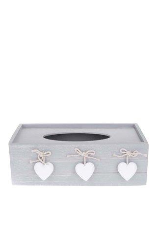Cutie pentru servetele Dakls din lemn