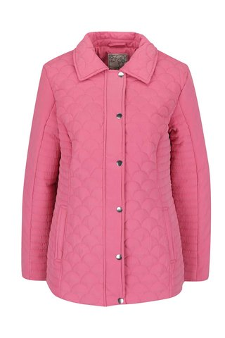 Geaca roz matlasata M&Co