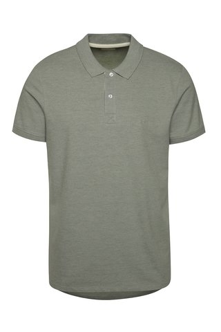 Tricou polo verde Selected Homme Aro