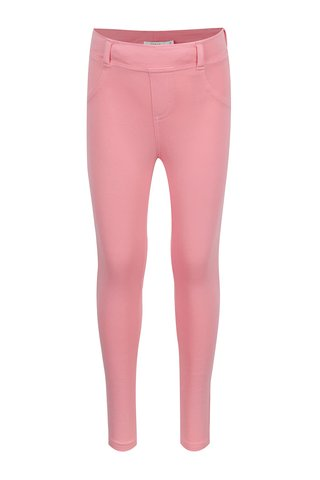 Colanti roz deschis name it Javi Iris cu talie elastica si buzunare
