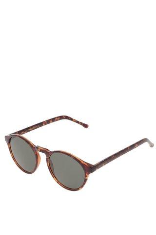 Ochelari de soare negru & maro unisex - Komono Devon