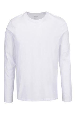 Bluza alba Burton Menswear London din bumbac