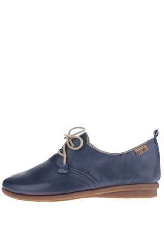 Pantofi albastri Pikolinos Calabria din piele