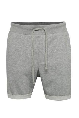 Pantaloni scurti gri din bumbac - Jack & Jones Boost