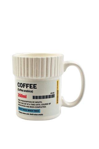 Krémový hrnek na předpis Gift Republic Coffee