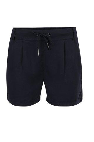 Pantaloni scurti bleumarin ONLY Poptrash