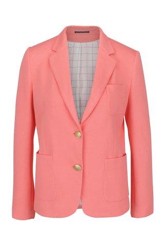 Růžové dámské sako GANT Jersey