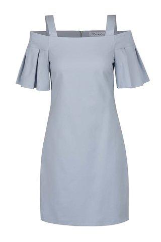 Rochie albastru deschis Closet cu decolteu pe umeri