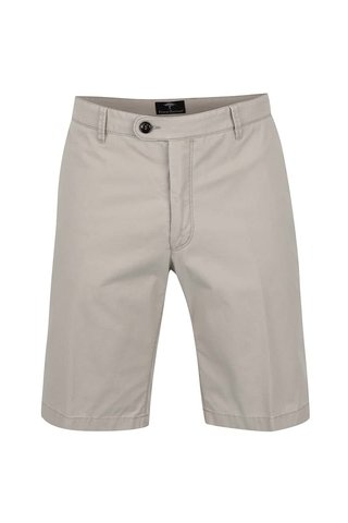 Pantaloni chino scurti bej Fynch-Hatton