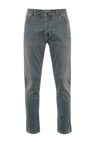Šedé stretch slim džíny Burton Menswear London