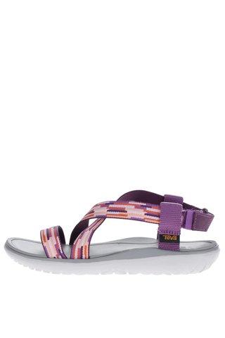 Sandale mov Teva pentru femei