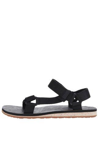Sandale negre din piele Teva pentru barbati