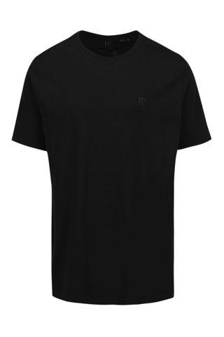 Tricou negru JP 1880 din bumbac cu logo