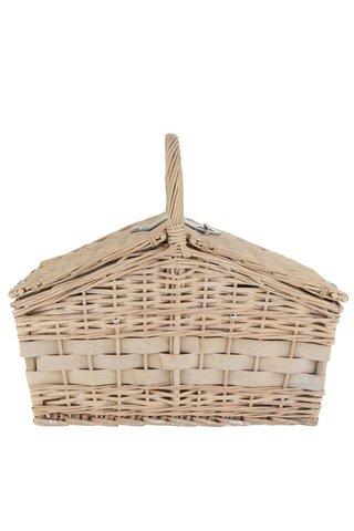 Cos de picnic bej pentru 4 persoane Dakls