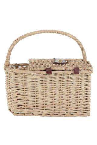 Cos de picnic bej Dakls pentru 4 persoane
