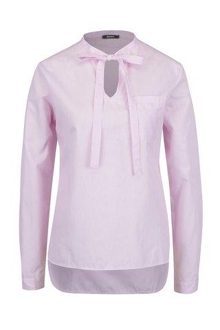 Bluza roz deschis ZOOT cu panglici