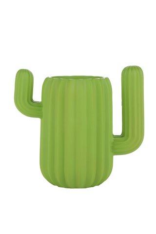 Suport verde pentru birou  Mustard in forma de cactus