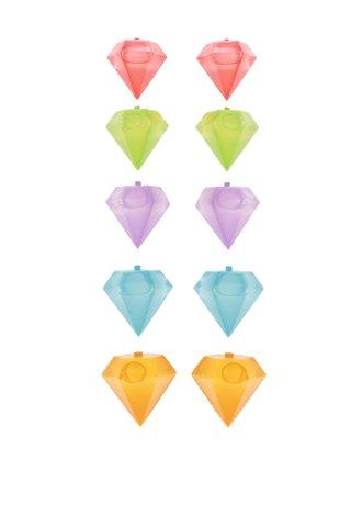 Set forme multicolore pentru gheata Kikkerland