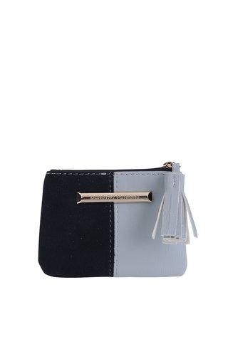 Modrá koženková peněženka na mince Dorothy Perkins