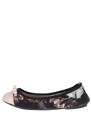 Balerini roz pal & negru Butterfly Twists Cara
