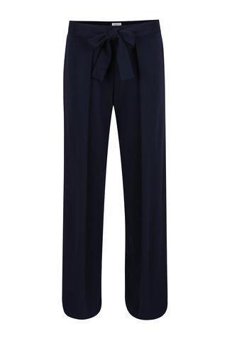 Tmavě modré volné kalhoty Jana Minaříková