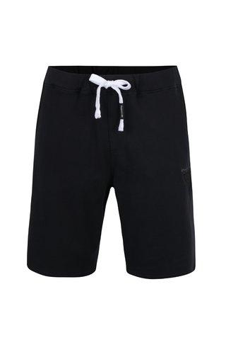 Pantaloni scurti negri MEATFLY Cushy din bumbac