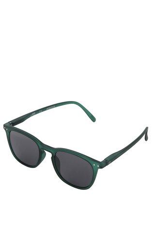 Ochelari de soare verde inchis IZIPIZI unisex