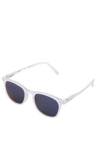 Ochelari de soare albi IZIPIZI unisex