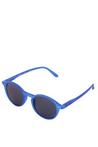 Ochelari de soare albastri unisex IZIPIZI  #D