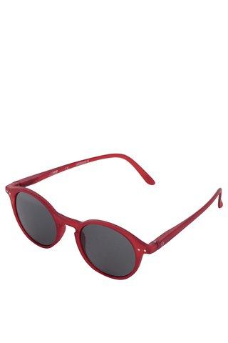 Ochelari de soare rosii IZIPIZI pentru femei