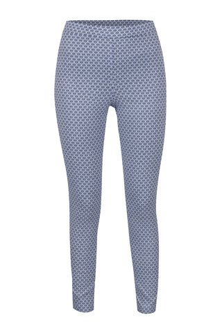 Colanti albastri Dorothy Perkins Tall  cu model geometric