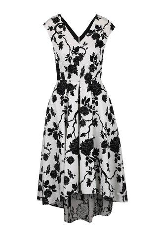 Rochie crem cu negru Closet cu imprimeu floral