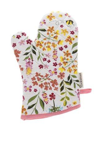 Manusa de bucatarie cu print floral Cooksmart