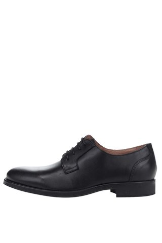 Pantofi negri din piele - Selected Homme Oliver