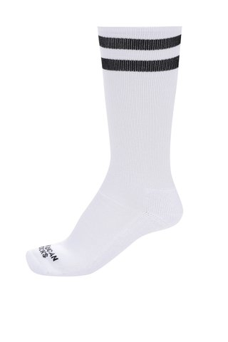 Sosete albe retro unisex American Socks Old school I.