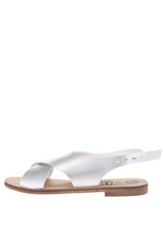 Sandály ve stříbrné barvě Snaha Rio 160